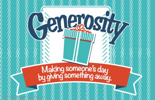 Generosity - Get Wrapped Up! - December 2014 - Part 1: Our ...